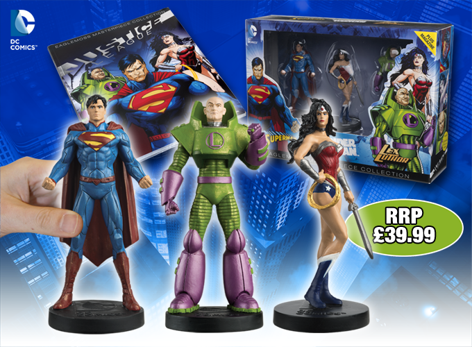 Justice league reader offer